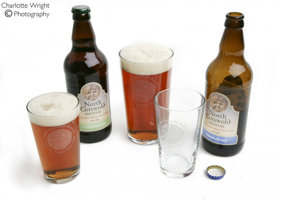 North Cotswold Brewery, Product Photography Warwickshire