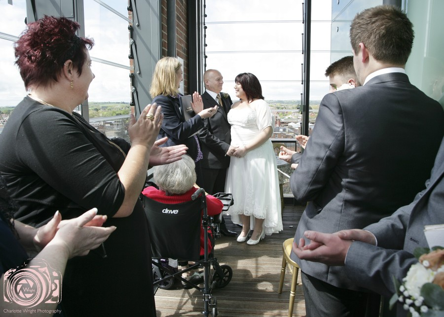 Stratford Upon Avon RSC Tower Wedding